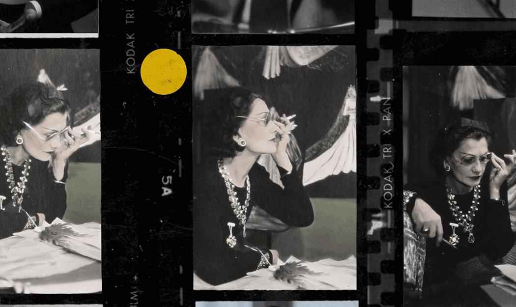 VONsociety: Gabrielle Chanel und das Kino, Kodak Foto-Abzüge