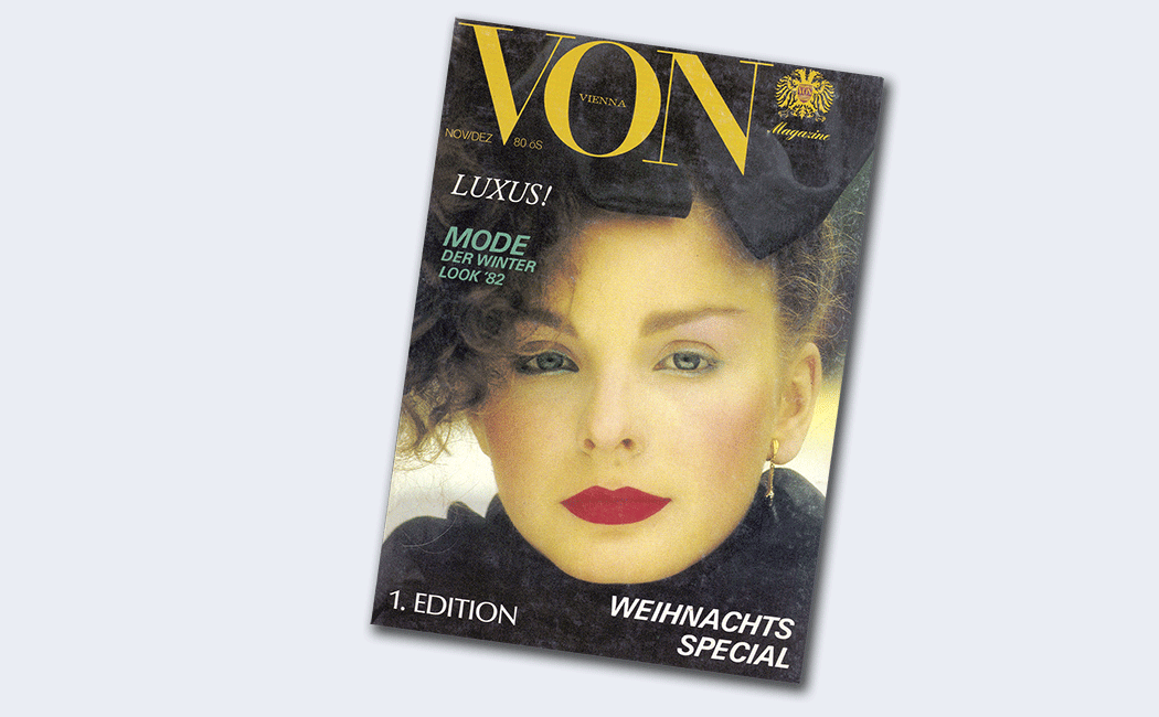 VON Magazine, 1. Ausgabe, Winter 1981/1982, Cover