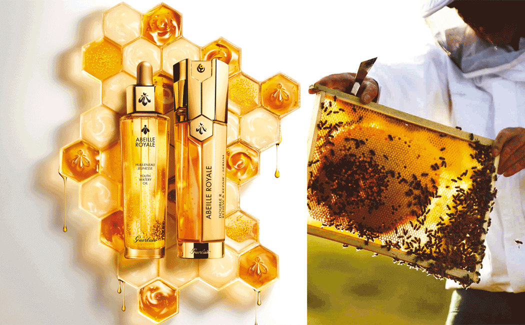 VONsociety: GUERLAIN und die Biene, World Bee Day, Abeille Royal Imagefoto, Imker