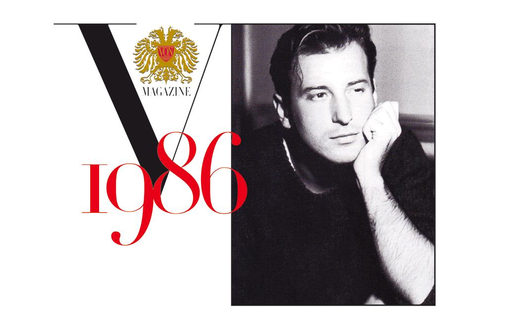 VONsociety: Helmut Lang VON Magazine 1986, Portraitaufnahme