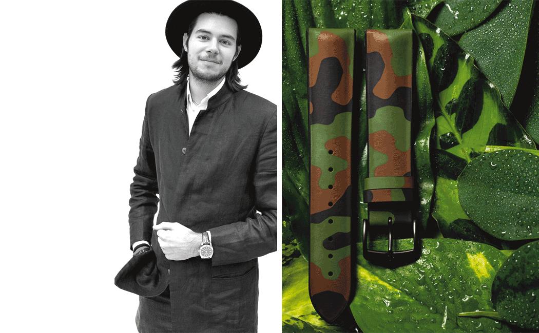 VONsociety: HIRSCH Armband Camouflage,Nikolaus Hirsch