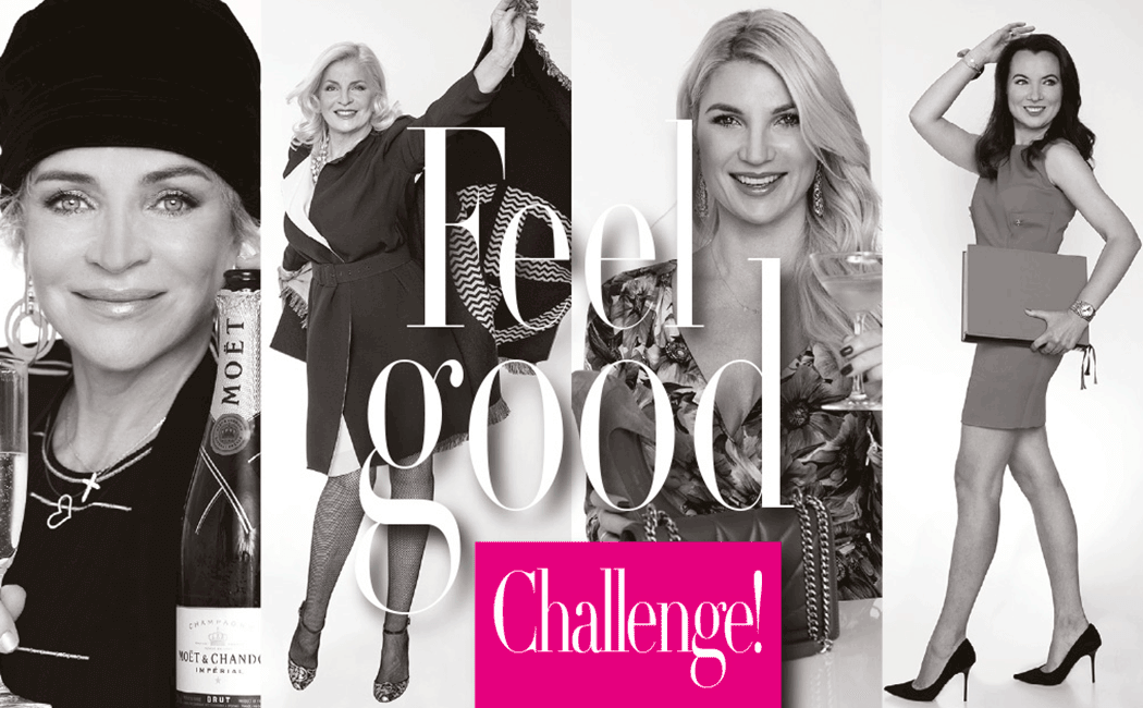 VONsociety: Feel Good Challenge, Tanya Klammer, Barbara Feldmann, Beate Rothmund, Nataliya Meier © Paul Harris