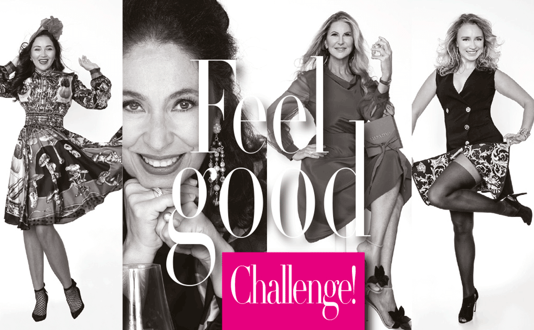 VONsociety: Feel Good Challenge, Vikki_by, Isabelle Cannas, Gabriele Lenikus, Alona Klammer © Paul Harris