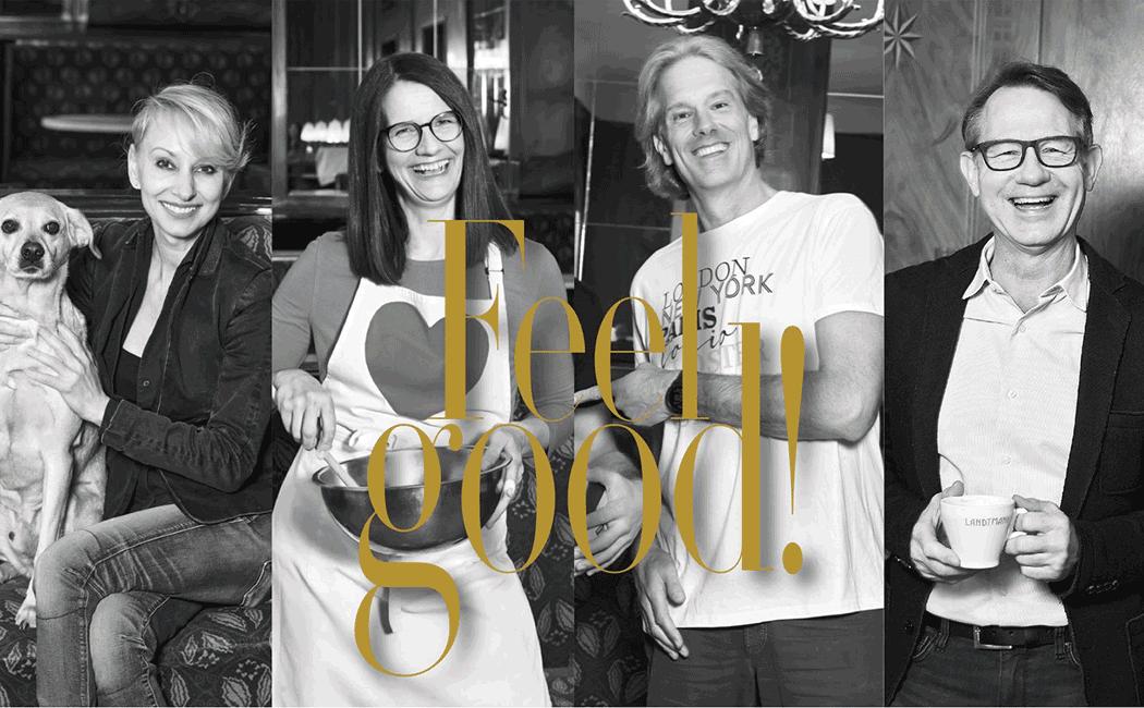 VONsociety: Feel Good by VON Magazine, Sabine Klimpt, Birgit Indra, Oliver Stamm, Gerald Ziegler © Caro Strasnik